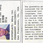 Passport Depicting Complex and Fluid Identity of Southeast Asians