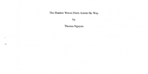 The Shadow Waves From Across the Way - Theresa Nguyen